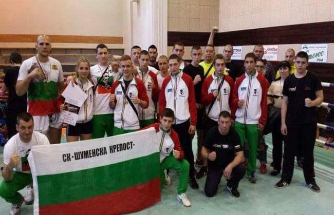 Спортен клуб Шуменска крепост кик бокс и бокс протектори