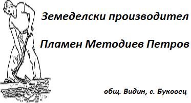 Земеделски производител - Пламен Методиев Петров